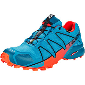 Salomon M's Speedcross 4 GTX Shoes Fjord Blue/Cherry Tomato/Black